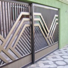 Portão Deslizante Duplo