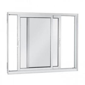 Esquadria de Alumínio - Janela e Vidro de 2 folhas