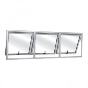 Esquadria de Alumínio Maxim-Ar Triplo